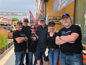 The Tattoo Storyhunters at the Sturgis Motorcycle Rally in August 2018